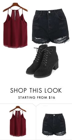 """Untitled #281"" by sierrapalmer10 on Polyvore featuring Topshop"