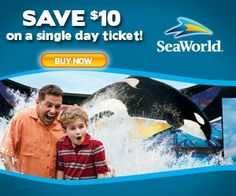 Sea World Coupons – Orlando Are you planning a trip to Orlando? Wanting to have a blast at the famous Sea World and Aquatica Theme Parks while you are there? Looking for some Sea World Orlando c ...
