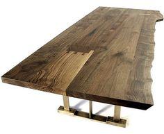 Rustikaler Wohnzimmer Tisch Dunkle Farbe