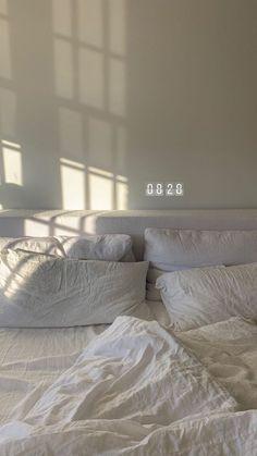 Cheap Home Decor .Cheap Home Decor Aesthetic Bedroom, White Aesthetic, My New Room, My Room, Bedroom Inspo, Bedroom Decor, Decor Room, Cozy Bedroom, Dream Apartment