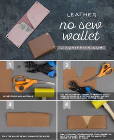 DIY Leather Wallet -