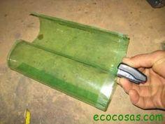 Cómo hacer un tejado con botellas PET | Ecocosas