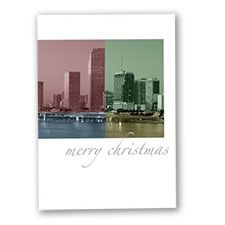 Miami Colors Holiday Card