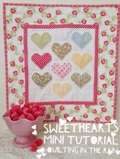 I'm sort of obsessed with hearts (see some of my other 'heart-themed' tutorials here, here and here), and what better excuse to share another heart-themed tutorial with Vale…