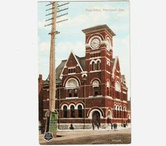 Items similar to 1909 Vintage Postcard Post Office Peterborough Ontario Canada on Etsy Peterborough Ontario, Places Of Interest, Post Office, Genealogy, Big Ben, Cities, Random Stuff, Places To Visit, Canada