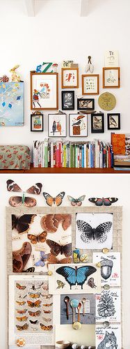 i love the patterned rabbit and the wooden letters, looking for letters for our place in an unusual font/size -- Geninne Zlatkis by decor8, via Flickr
