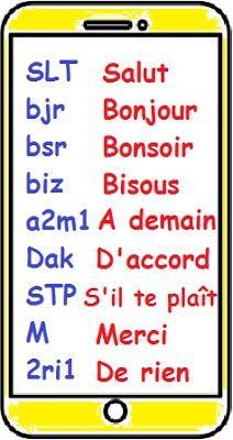 Le langage texto (A1)