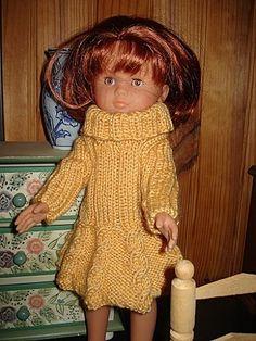 Fiche gratuite vêtements de poupée N° 114: ROBE CHÉRIES DE COROLLE - Le blog de La malle ô trésor de Sylvie
