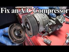 Diagnose and replace compressor