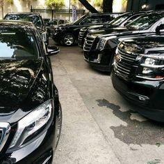Our new fleet. BLACK ON BLACK #worldwidetransportation #nyc #vegas #miami #moscow #bahamas #dubai #nyc #limousines #limo #limobus #privatechauffeur #lifestyle #livelife #luxuryliving #exoticlimos...