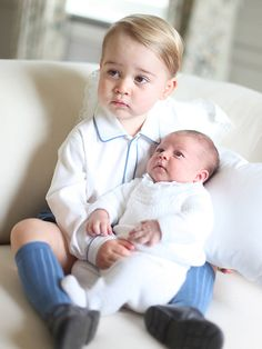 Prince George and Princess Charlotte - taken by Duchess Kate