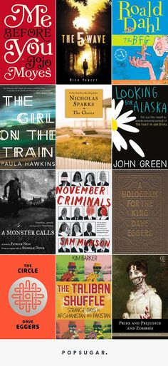 Pin for Later: 29 Great Books That Are Getting the Movie Treatment in 2016