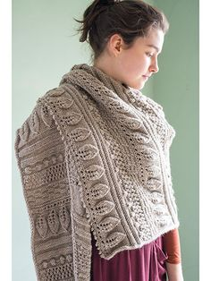 Knitting Pattern Greenwood Shawl - #ad Gorgeous luxurious asymmetrical stitch…