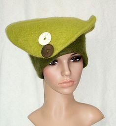 https://flic.kr/p/a9bFrZ   Green Felt Hat