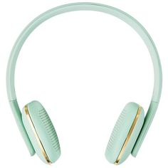 aHead Bluetooth Headphones Mint ($125) ❤ liked on Polyvore featuring filler and tech