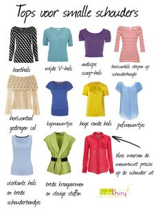 Tips en tops voor als je smalle of afhangende schouders hebt | www.lidathiry.nl |
