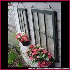 Dollar Store Crafter: Turn A Boring View Of Your Garage Into A Beautiful...
