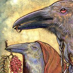 Generations Celtic Raven Triple Goddess Shaman by AntlerThorn