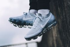 Nike Air VaporMax Pure Platinum Sneakers Nike, Sneakers Fashion, Nike Shoes