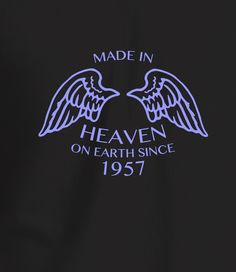 Made in Heaven Women's 60th Birthday T Shirt
