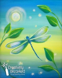 Enchanted Dragonfly | Creatively Uncorked | http://creativelyuncorked.com | Creatively Uncorked | http://creativelyuncorked.com