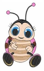 Ladybug embroidery design from embroiderydesigns.com