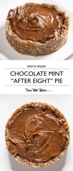 raw chocolate mint after eight pie raw chocolate mint after eight pie ...