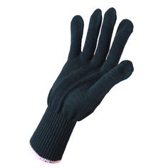 Professional Heat Resistant Glove Protective Glove Hair Styling Tool For Hair Curling Iron Straightener Flat Iron Black
