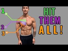 How To: Upper, Middle and Lower Cable Chest Fly | Chest Workout for Mass - YouTube