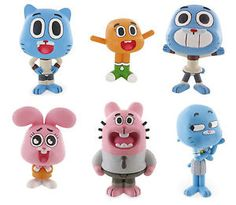 Bullyland-Comansi-The-Amazing-World-Of-Gumball-Toy-Figures-Cake-Topper-Toppers