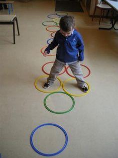 Movement Preschool, Physical Activities For Kids, Exercise Activities, Gross Motor Activities, Educational Activities For Kids, Speech Therapy Activities, Color Activities, Toddler Activities, Preschool Activities