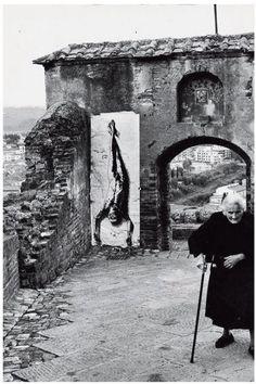 Ernest Pignon-Ernest, Pasolini, Certaldo, 1980