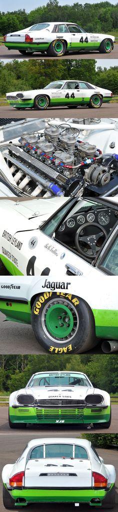 1978 Jaguar XJS V12 IMSA Quaker State / competition / white green / UK / 17-194