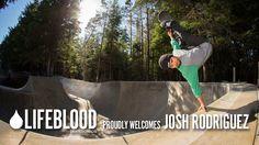 Lifeblood Skateboards Welcomes Josh Rodriguez Skate Park, Skateboards, Welcome, Messenger Bag, Surfing, The Past, Skateboard, Surf, Surfs Up