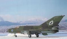 "1:72 Mikoyan Gurewitsch MiG-21bis, ""MG-116"", HävLLv 31 [Karelian Wing], Finnish Air Force, Rissala Air Base, around 1980 (Matchbox kit)"
