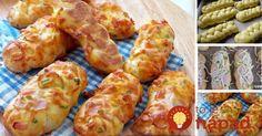 Gnocchi so špargľou, hráškom a parmezánom do pol hodiny Czech Recipes, Russian Recipes, Ethnic Recipes, Bread And Pastries, Fresh Rolls, Finger Foods, Baked Potato, Minis, Mozzarella