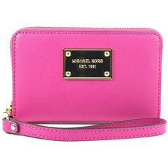 Michael Kors Wallet and Phone Case, Zinnia