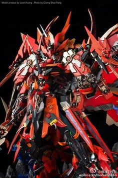 MG Gundam Sengoku Astray + Epyon 'Prince of the Devils' [GBWC 2016 Taiwan] - Diorama Build Modeled by Leon Huang 😆🛒 . DM us to shout out . Gundam Toys, Gundam Art, Robo Transformers, Taiwan, Diorama, Gundam Astray, Gundam Wallpapers, Accel World, Arte Cyberpunk