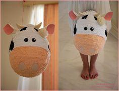 a sweet sweet cow piñata by pinatafun on Etsy www.pinatafun.blogspot.com handmadepinatas!gmail.com