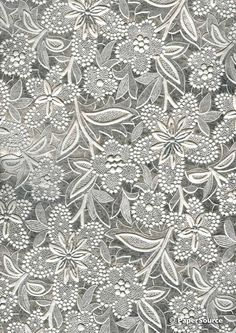 Embossed Foil Bloom wedding paper