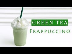How to Make Green Tea Frappuccino [Copycat Recipe] | Eugenie Kitchen