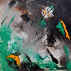 "Saatchi Art Artist Veronique Radelet; Painting, ""abstract 696"" #art"