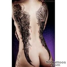 Sexy Tattoos For Women Wing Tattoos on Back for Women Tattoo _1 #tattoosforwomensexys #tattoosforwomenonback #tattoosonbackforwomen