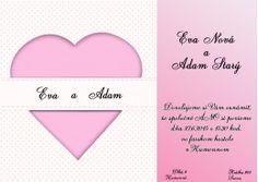 Svadobné oznámenie - SO153