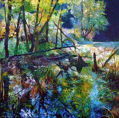 "Saatchi Online Artist: Ellen Dittebrandt; Acrylic, 2006, Painting ""A New Day"""