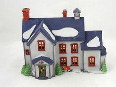 "Department 56 New England Village Series, ""Pennsylvania Dutch Farmhouse"", 1993"