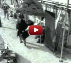 Skinhead attacking a businessman on the sidewalk… Or is he? Answer: all in your perspective!!