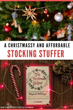 The Perfect Stocking Stuffer for all the Christmas enthusiasts on your list. More joy, less stress! This uplifting book will give you top tips and the tools you need the most festive holiday ever. #stockingstuffers #christmasreads #holidayplanner #christmasplanner #christmasdecorideas #christmascrafts #christmasreads #christmasbooks #festiverecipes #christmasgames #christmasactivitiesforkids