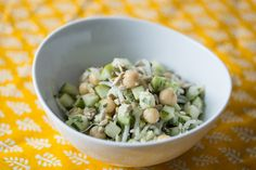 This salad may remind some Indians of the traditional chickpea and mango snack called a sundal.