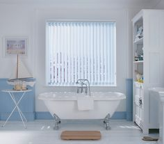 Blinds Tub Forward Vertical Give The Perfect Balance Of